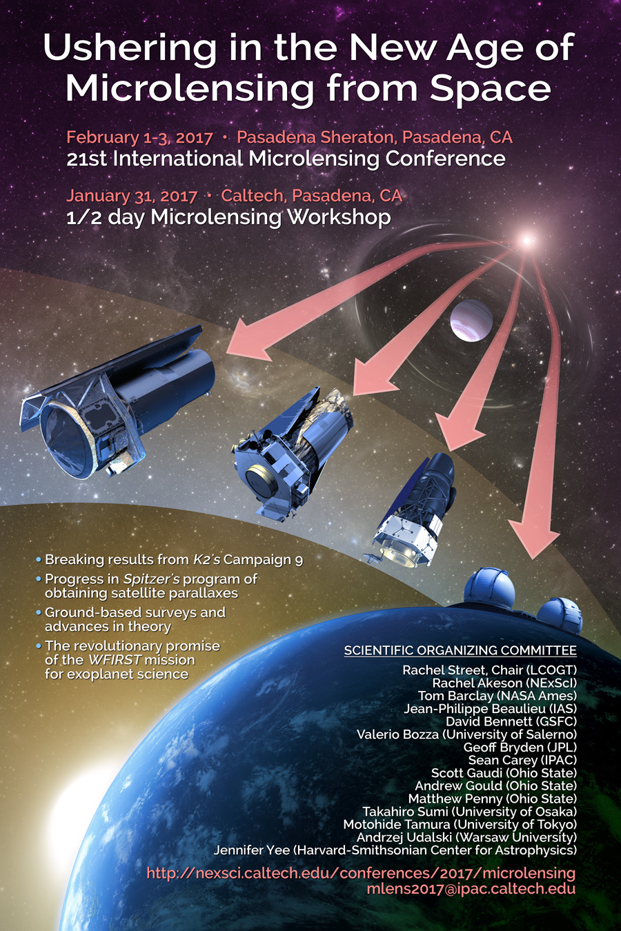 21st Microlensing Conference Poster